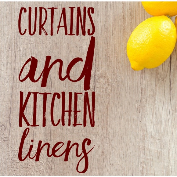 Curtains and Linens